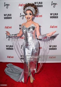 Drag queen Bianca Del Rio attends Logo TV's 'RuPaul's Drag Race' season finale event at Orpheum Theatre on May 19, 2015 in Los Angeles, California.