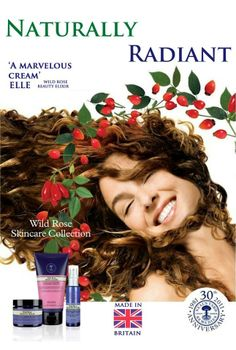 Neal's Yard Remedies fabulous 'revolutionary' Wild Rose Range: Radiance-boosting and intensely nourishing. Enriched with wild rosehip oil, ultra-moisturising hyaluronic acid and an anti-aging peptide. Use daily for radiant, glowing skin. Please visit my site for product details and shop on line 24 / 7: https://us.nyrorganic.com/shop/face2face/area/shop-online/