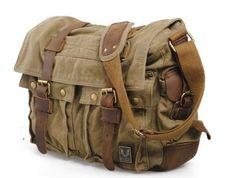Canvas bag Messenger Vintage Leather Leather Bag Washed Diagonal Tote DSLR Bag 2138k Yellow
