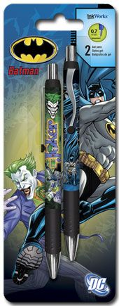 Batman - Gel Pens - 2pk