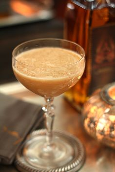 Pumpkin Pie Martini from @Barbara Kiebel