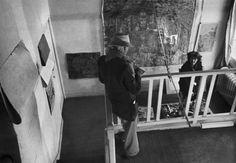 Pierre Bonnard at his home, Le Cannet, Alpes-Maritimes, France, 1944. Henri Cartier-Bresson