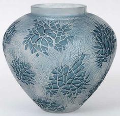 R. Lalique Vase Esterel, circa 1923