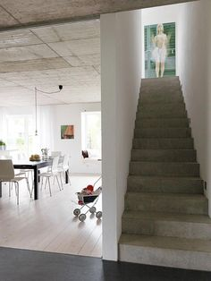 Beleuchtbare Treppe
