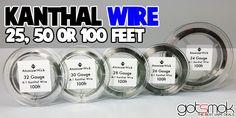 Kanthal Wire (Multiple Gauges & Lengths) | GOTSMOK.COM