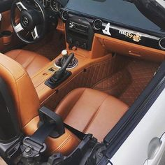 ❤ @dill_mx5's CarbonMiata Quilted Floor Mats! More quilted interior items at our store ▶ www.TopMiata.com/carbonmiata/ (Earn DISCOUNT Points) Worldwide Shipping. #AllThingsMiata #TopMiataParts #TopMiata #CarbonMiata