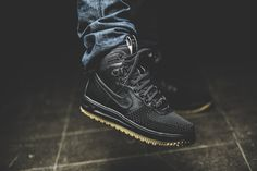 Nike - Lunar Force 1 Duckboot (schwarz) - 805899-003
