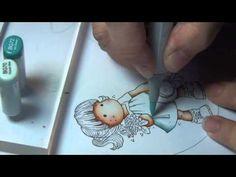 Copic Marker Deutschland Blog: Paletten-Technik