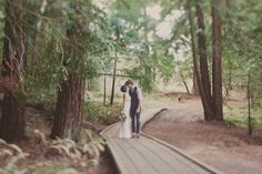 forest elopement ideas - @Anna Rickel - mom will hate me for sharing this with you, but this is a simple wedding at it finest. ;)