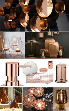 Wherever you look – the warm glow of copper.