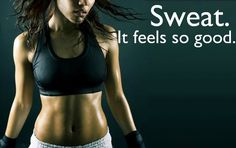 No it really doesn't. It's AFTER the sweat that feels good.