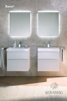 The Xeno² collection's basin by Keramag Design UK. Find more at: http://www.keramagdesign.com/