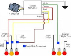 10 best trailer wiring diagram images on pinterest campers RV Trailer Wiring Diagram at Camper Tail Light Wiring Diagram