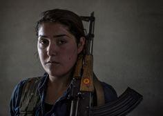Roken Gudi, YPG soldier.