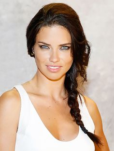 Adriana Lima KILLS the braid game! Click through for more braidspiration from our fave celebs! // #celebrity #beauty