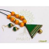 handmade-terracotta-jewelry-tsc205  Maitri Crafts www.maitricrafts.com https://www.facebook.com/maitricrafts.maitri