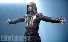 Through a small collection of trailers, featurettes, and E3 previews, fans of the Assassin's Creed series have gotten to know a little bit about Aguilar, the hooded contract killer played by Michael Fassbender and at the center of the franchise's first feature film, out Dec. 21.