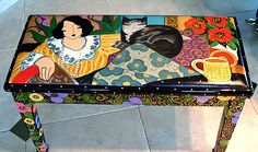 art benches painted | Click on below piano Imeges for large viewing