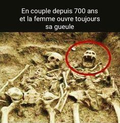 En #couple depuis 700 ans et la #femme ouvre toujours sa gueule !!! #lol #mdr #humour #blague #drole #rire #blagues #blaguer