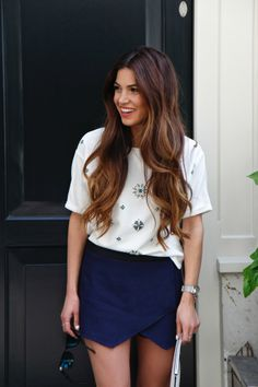 Back to the perfect pair of Skorts   Negin Mirsalehi