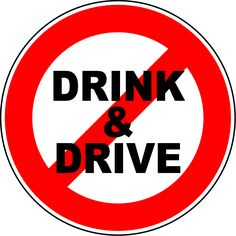 I do not support any drunk driving, many people are killed or injury.