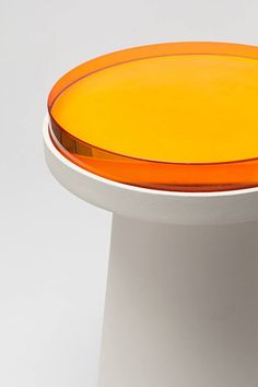 Material Container Acrylic on Powder-Coated Aluminum by Jeonghwa Seo 2 Furniture Styles, Home Furniture, Furniture Design, Acrylic Furniture, Cafe Interior, Industrial Design, Container, Color, Inspiration