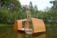 Free Floating, hotel ecológico para disfrutar de la naturaleza