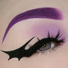 Source: 10 Spider Web Eyeliner Looks Perfect For Halloween Punk Makeup, Edgy Makeup, Grunge Makeup, Gothic Makeup, Eye Makeup Art, Bat Makeup, Asian Makeup, Korean Makeup, Eyeliner Designs