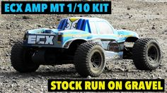 ECX AMP MT Kit stock run on gravel (without music)