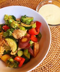 Chicken Stir Fry with Tahini Sauce