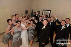 Time to celebrate! Cheers to the bride and groom on their special day! www.CrystalBallroomNJ.com. Photos courtesy of Abella Studios. #bride #groom #wedding #marriage #CrystalBallroom #NJWeddings #CentralNJWedding #freeholdnj #nj #weddingdress #husband #wife #banquethall #venue