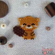 Photos and Videos Pony Bead Patterns, Peyote Stitch Patterns, Hama Beads Patterns, Beaded Jewelry Patterns, Beading Patterns, Perler Bead Templates, Brick Stitch Earrings, Iron Beads, Beaded Animals