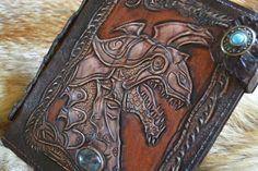 Купить Фентези классик стиль обложка на ежедневник Книга Заговоров - ежедневник, ежедневник кожаный, коричневый