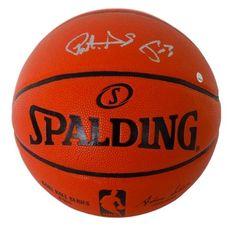 Patrick Ewing New York Knicks Signed Spalding Basketball Steiner