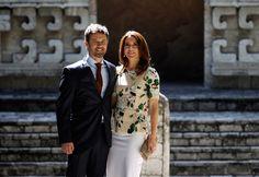 Frederik e Mary de visita ao México - A realeza