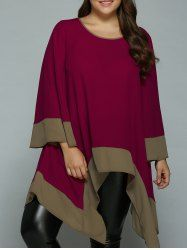 SHARE & Get it FREE   Plus Size Bell Sleeve Asymmetrical BlouseFor Fashion Lovers only:80,000+ Items • New Arrivals Daily • Affordable Casual to Chic for Every Occasion Join Sammydress: Get YOUR $50 NOW!