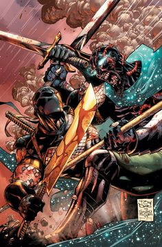 Deathstroke #10 by Tony S. Daniel