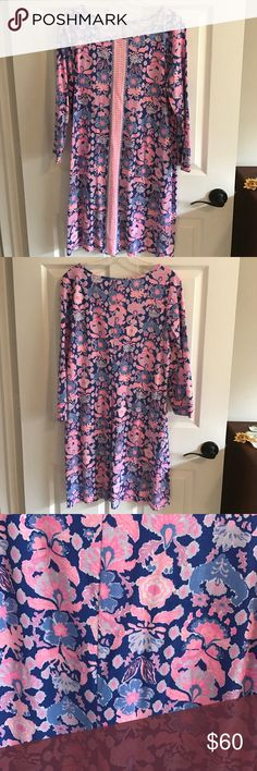 Lilly Pulitzer dress size large Large worn once EUC Lilly Pulitzer Dresses Mini