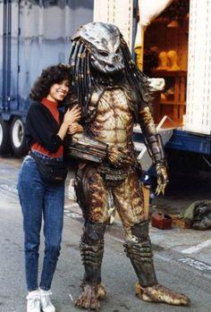 mykillyvalentine:On the set of Predator 2 (1990).