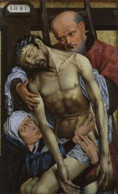 Die Kreuzabnahme by Rogier van der Weyden
