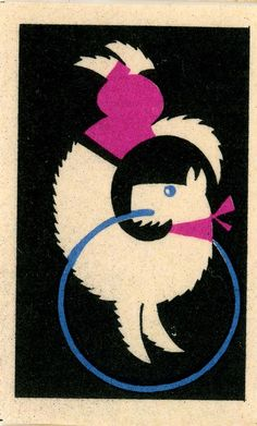 https://flic.kr/p/7cEsiL | Match Box Label, circus | Dog Act
