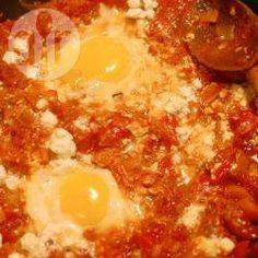 Photo recette : Shakshuka (œufs à l'israélienne)