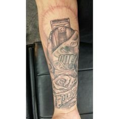 Wahl Icon Tattoo #wahl #tattoo #clippers