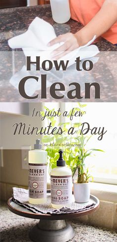 How to Clean in Just