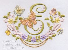 Amazing Embroidery Designs {amazingembroiderydesigns-469377-13731 K.H.}