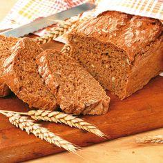 Egyszerű teljes kiőrlésű kenyér