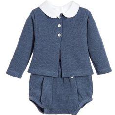 Babidu - Baby 3 Piece Cotton Shorts Set   Childrensalon