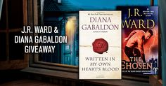 This is your chance to win ANY book by two of today's bestselling Urban Fantasy authors! They have picked the author…but the winner picks the book! This is your chance to get, for free, the latest from J.R. Ward and Diana Gabaldon! ... http://www.beccahamiltonbooks.com/giveaways/win-books-by-jrward-and-dianagabaldon-in-this-urbanfantasy-giveaway-amreading-kindle/?lucky=270025