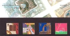The Christians' Tale - Uk Stamps, Postage Stamps, Stamp Collecting, Royal Mail, Christians, Great Britain, Presentation, British, Seals