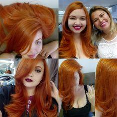 Ruivo Acobreado Loreal Hicolor Red, Sexy Bikini, Bikini Girls, Short Hair Cuts, Short Hair Styles, Red Hair, Hair Inspiration, Hair Color, Hair Beauty
